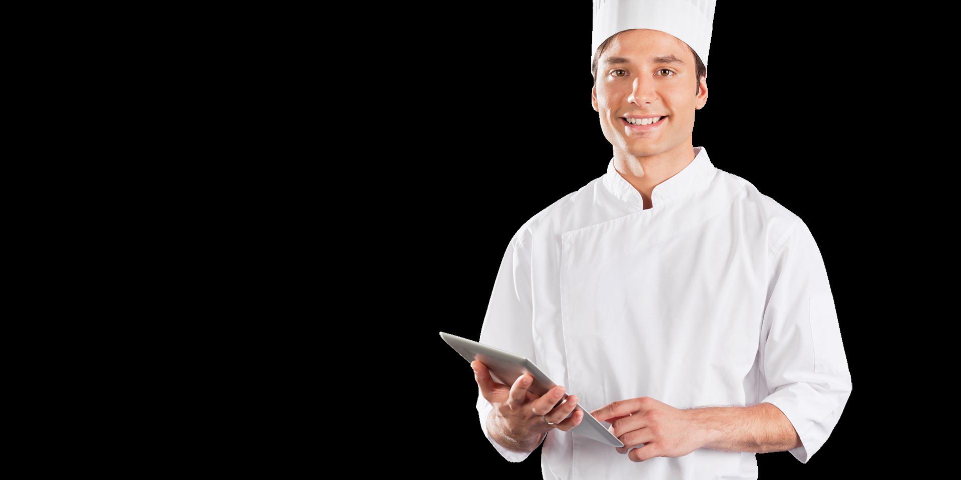 Cuoco aggiorna il sito web del proprio ristorante con ORBITA